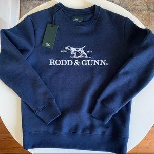 Rodd & Gunn Kelvin Street Sweat Navy Size Small